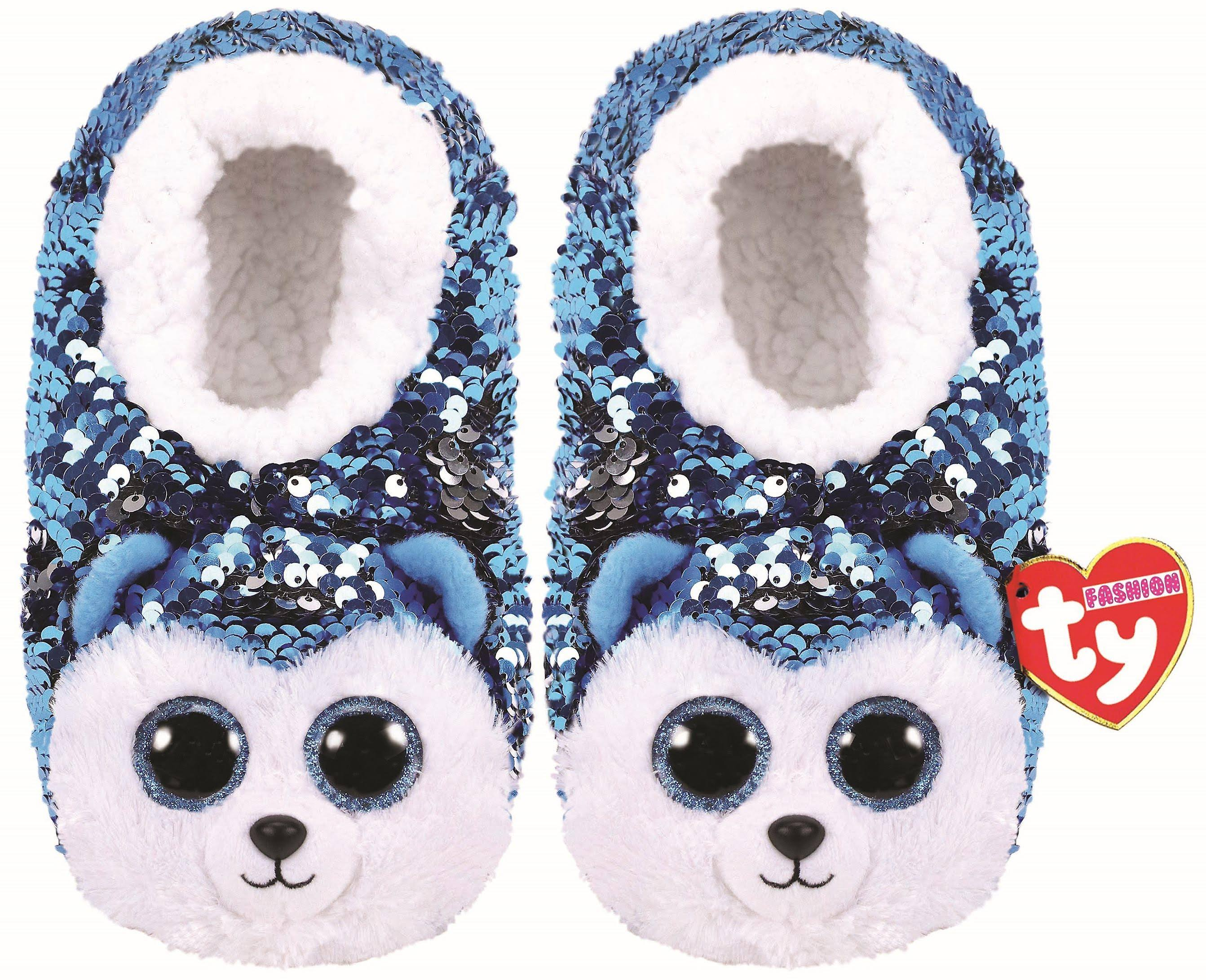 Ty Slush Dog Flip Slippers Small
