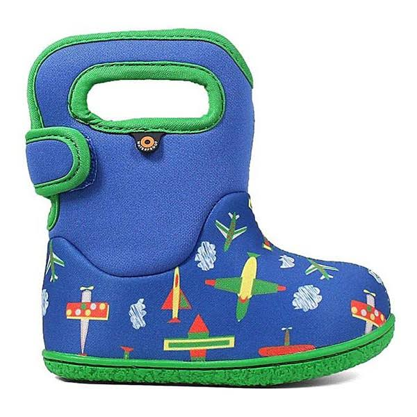 Bogs Baby Bog Plane Boot Blue Multi 4
