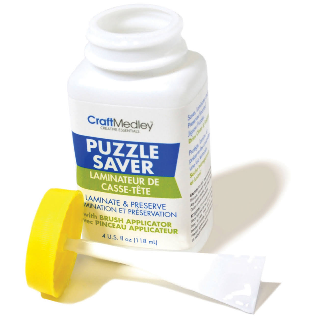 Multicraft Adhesive Puzzle Saver with Trowel Applicator - 4oz