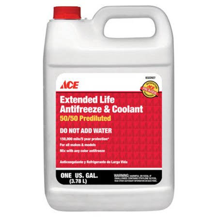 Ace Extended Life Antifreeze and Coolant - 50/50, 1gal
