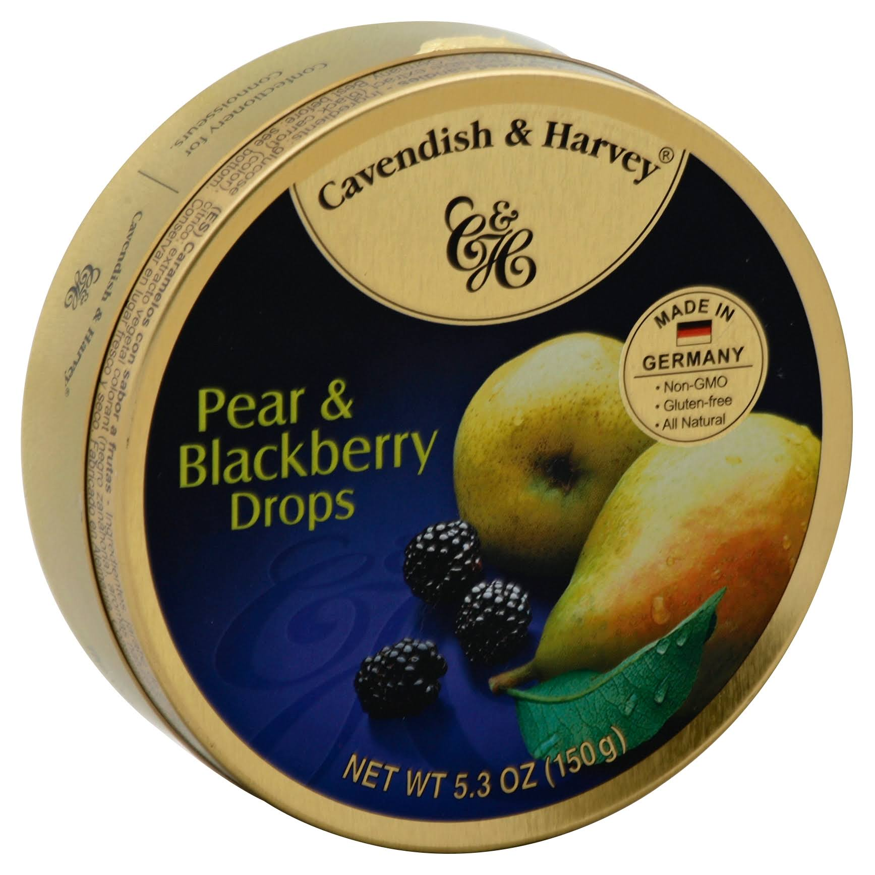 Cavendish & Harvey Drops - Pear & Blackberry, 200g