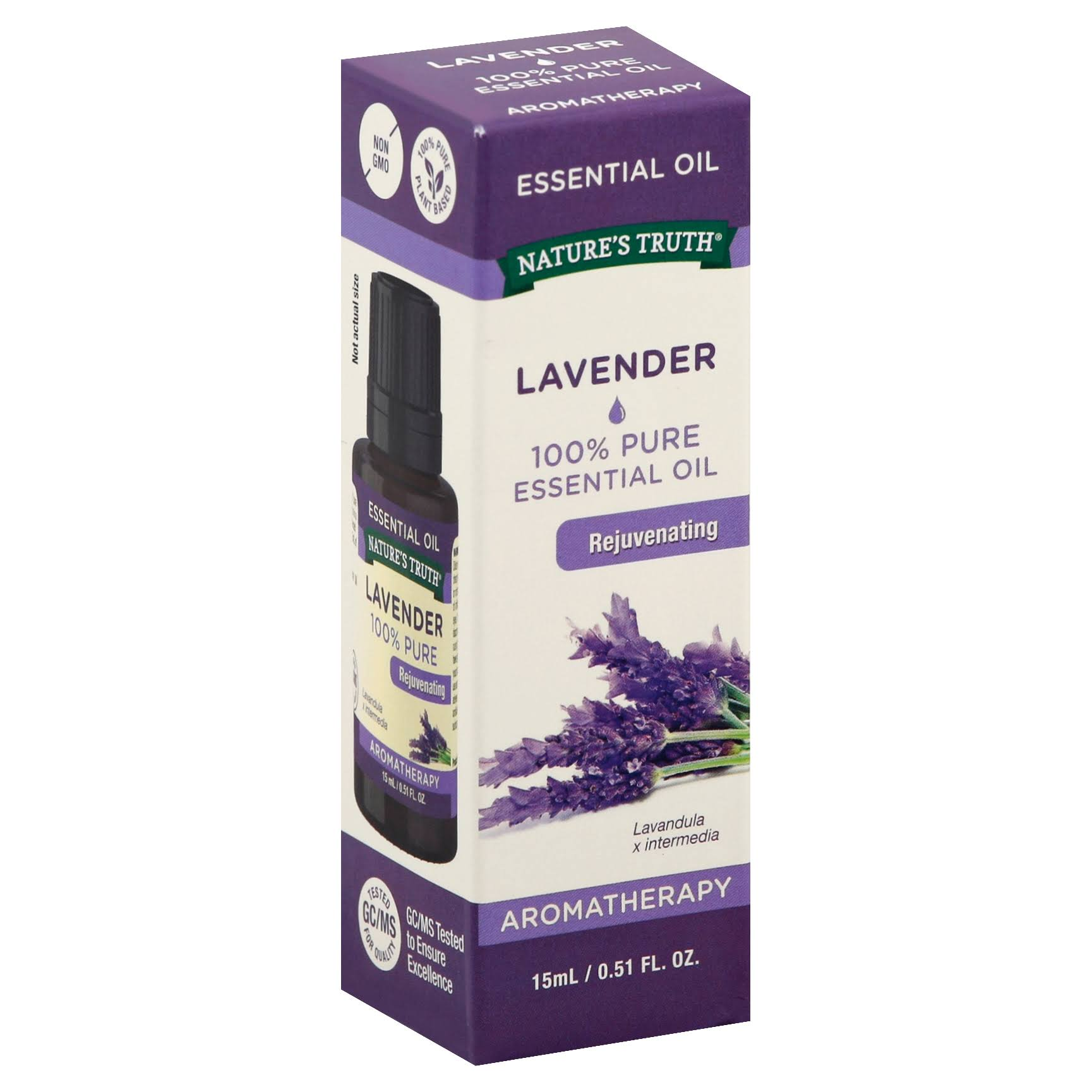 Nature's Truth Aromatherapy Pure Essential Oil - Lavender, 15ml