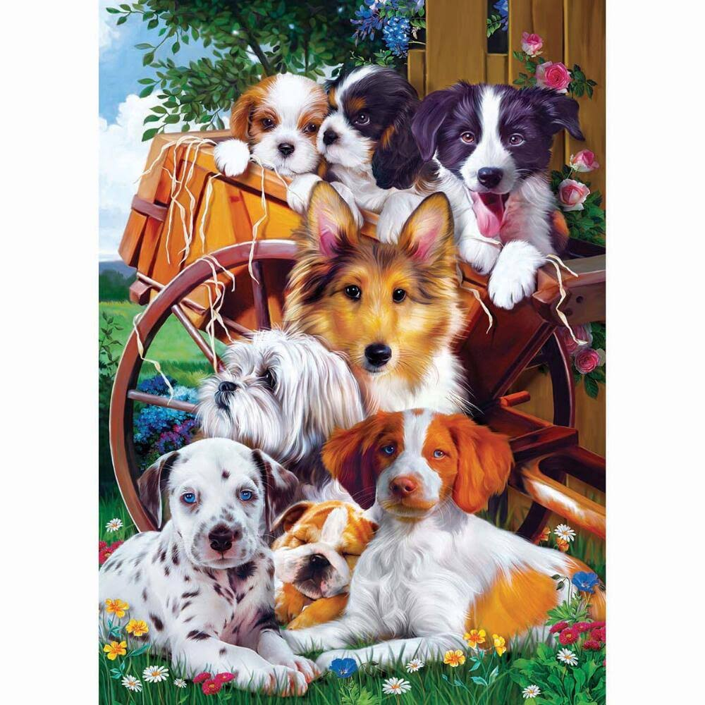 Masterpieces Furry Friends - Ready for Work 1000pc Puzzle