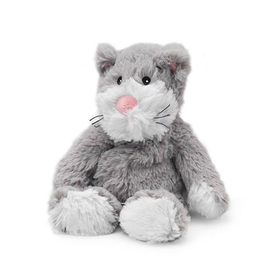Intelex Cozy Plush Heatable Stuffed Toy - Kitty Cat, Lavender Scented