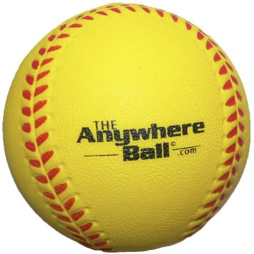 The Anywhere Ball Baseball Softball Foam Training Ball - 12pk