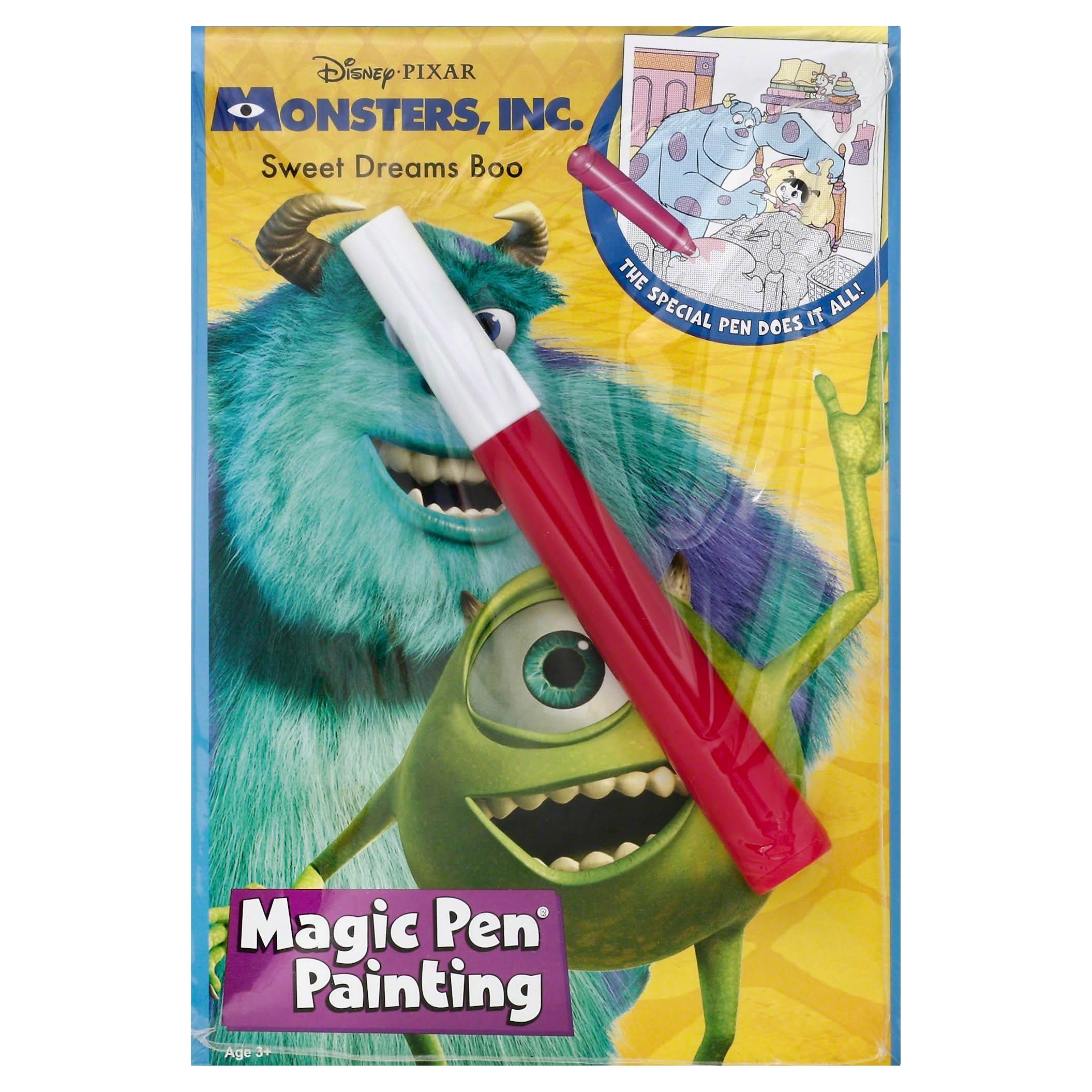 Lee Publications Monsters Sweet Dreams Boo Magic Pen Painting Book