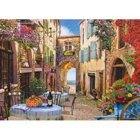 Cobble Hill French Village Jigsaw Puzzle - 1000pcs