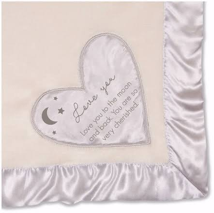 "Love You to The Moon - 30"" x 40"" Royal Plush Blanket"