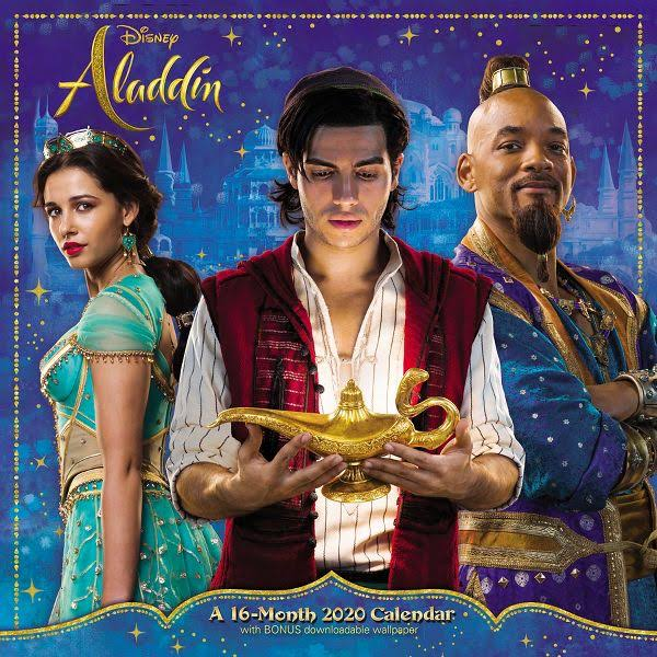 Mead Disney Aladdin Live Action 12x12 Monthly Wall Calendar - Disney