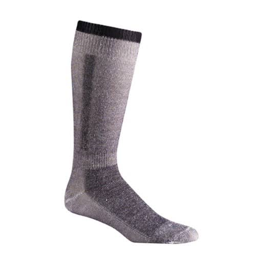 Fox River Snow Pack Over-The-Calf Merino Wool Socks - Black, Medium
