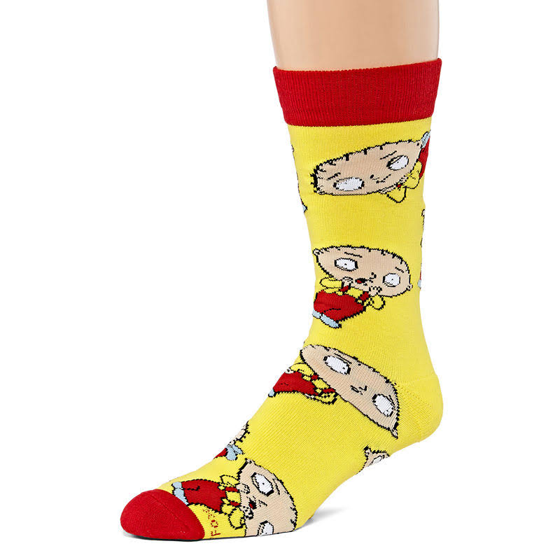 Cool Socks Men's Stewie Griffin (Knit)
