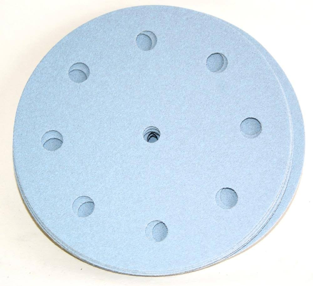 Festool 497145 Sanding Discs - 40 Grit, Granat Abrasives, Pack of 10