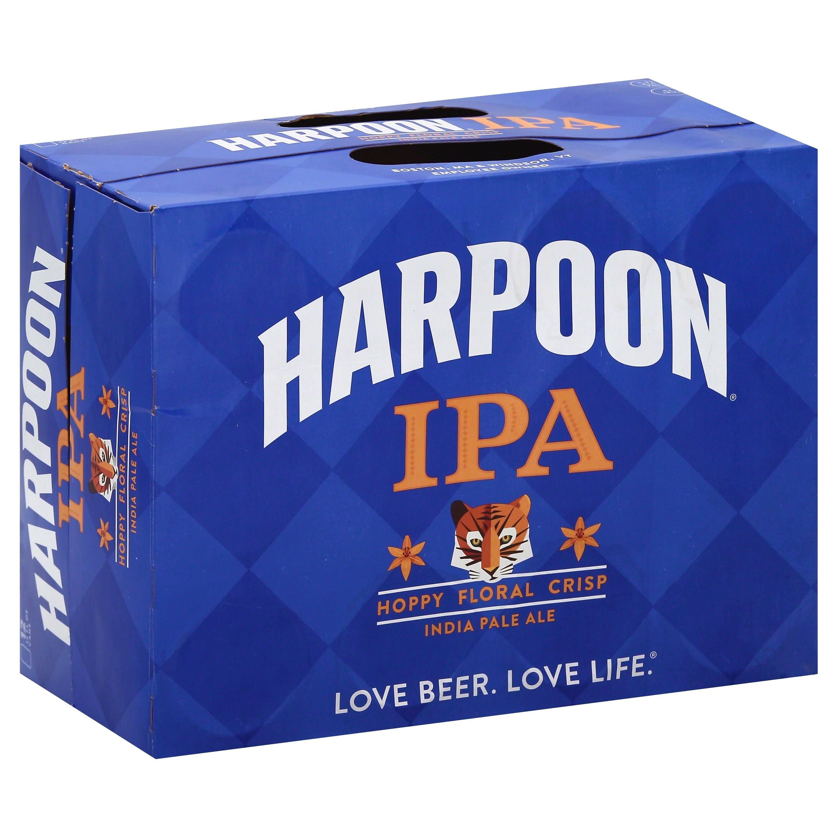Harpoon Beer, IPA, India Pale Ale