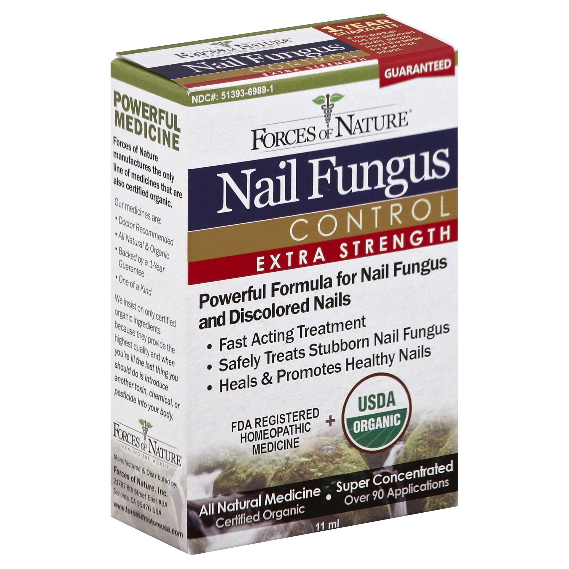 Forces Of Nature Extra Strength Nail Fungus Control - 11ml