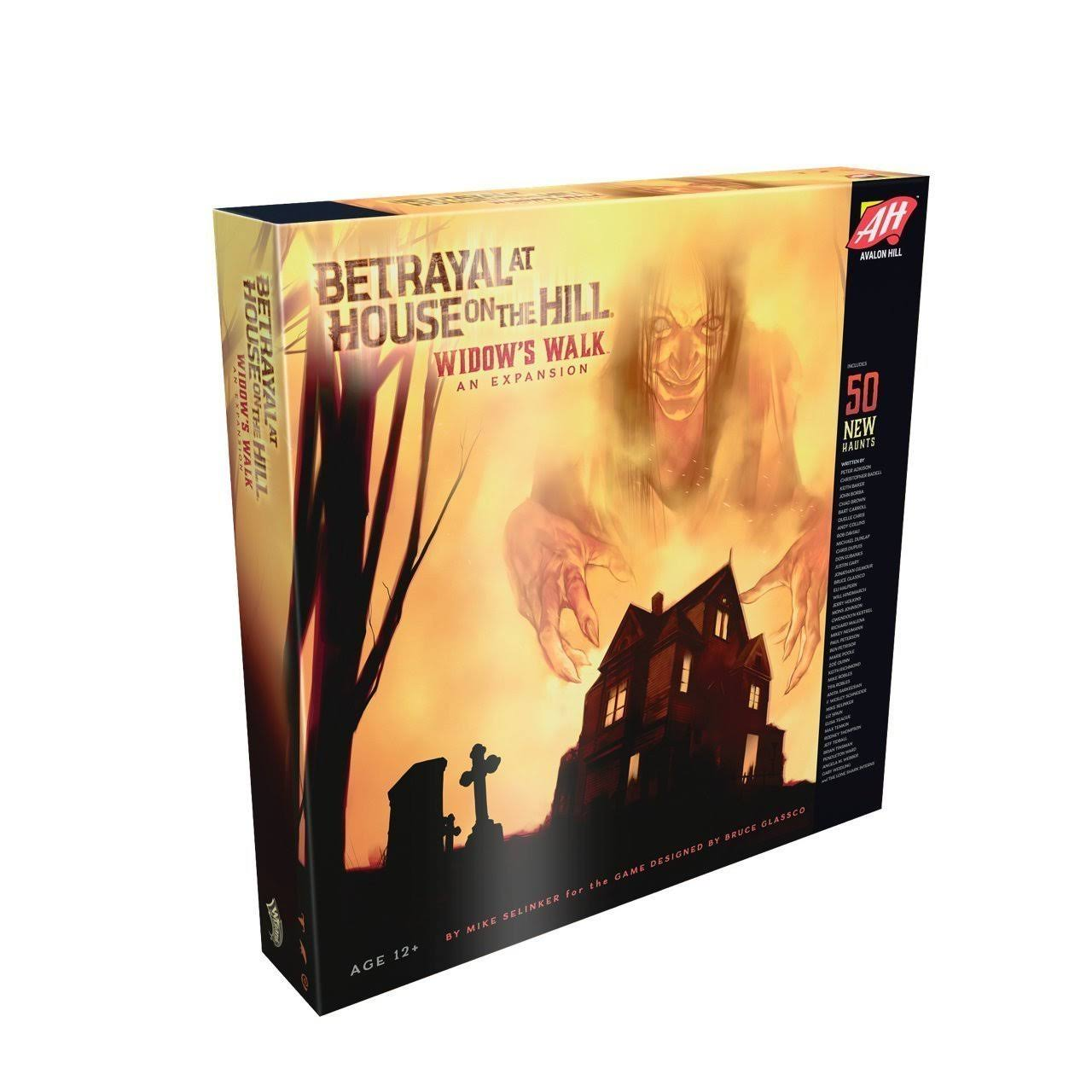 Avalon Hill Betrayal at House on the Hill Widow's Walk Expansion Board Game