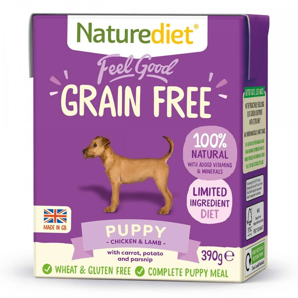Naturediet Grain Free Puppy 18 x 390g