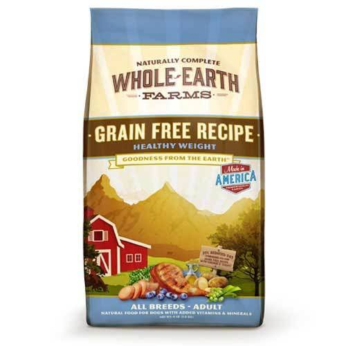 Merrick Whole Earth Farms Healthy Weight Dry Dog Food - 25lbs