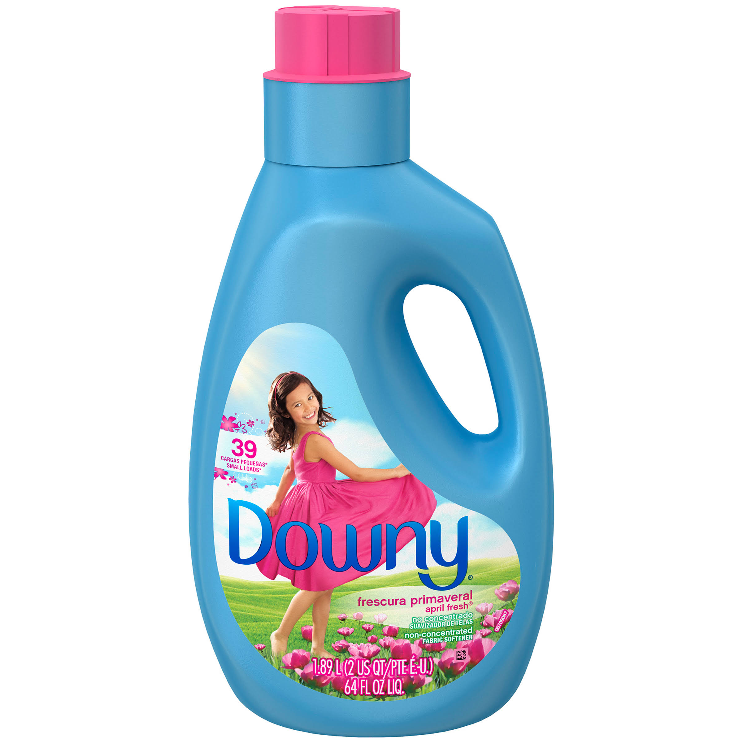 Downy Fabric Softener - 1.89l, April Fresh