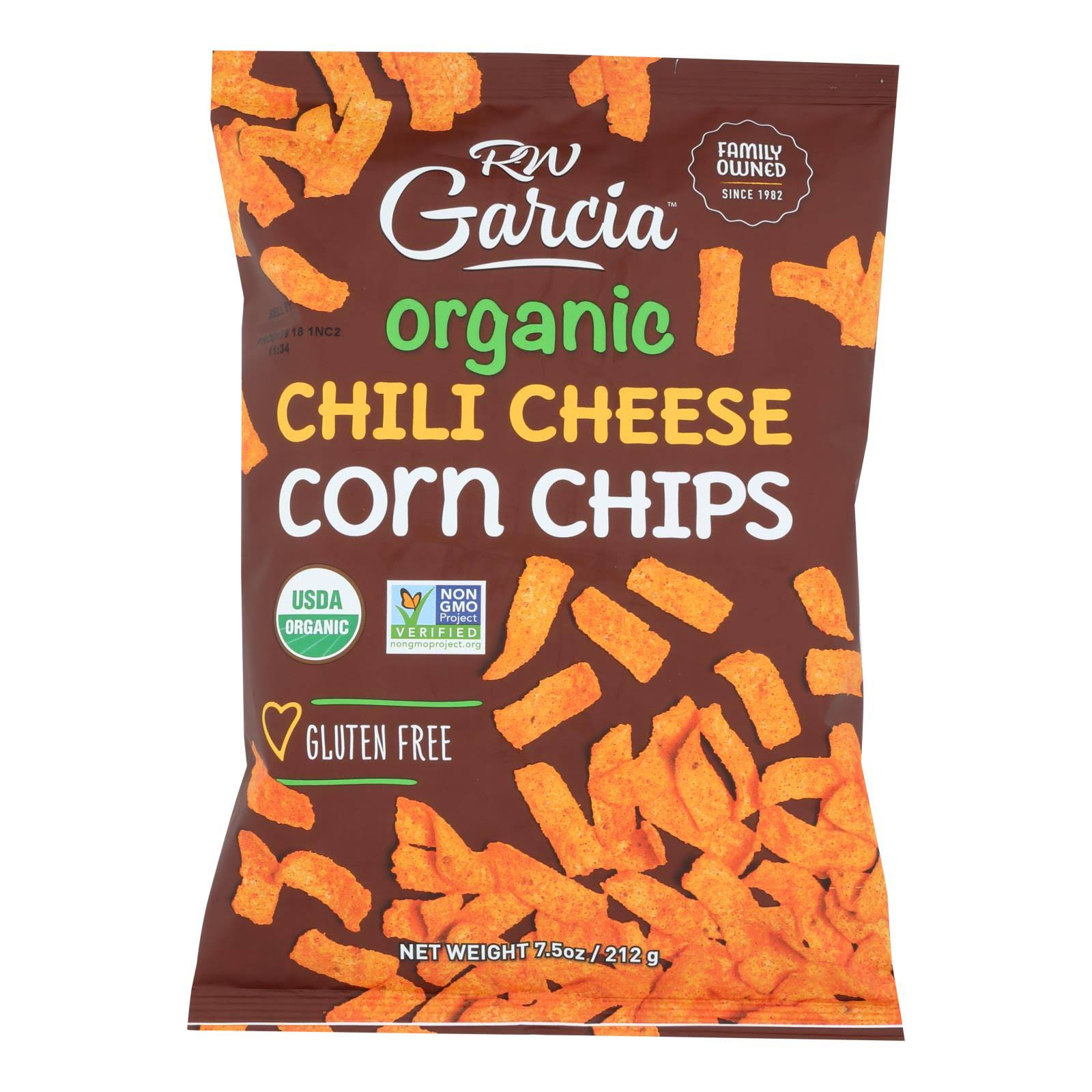 RW Garcia Organic Corn Chips - Chili Cheese