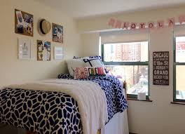 Dorm Room Bed Skirts by Preppy Dorm Room Loyola Chicago Dorm My Creations Pinterest