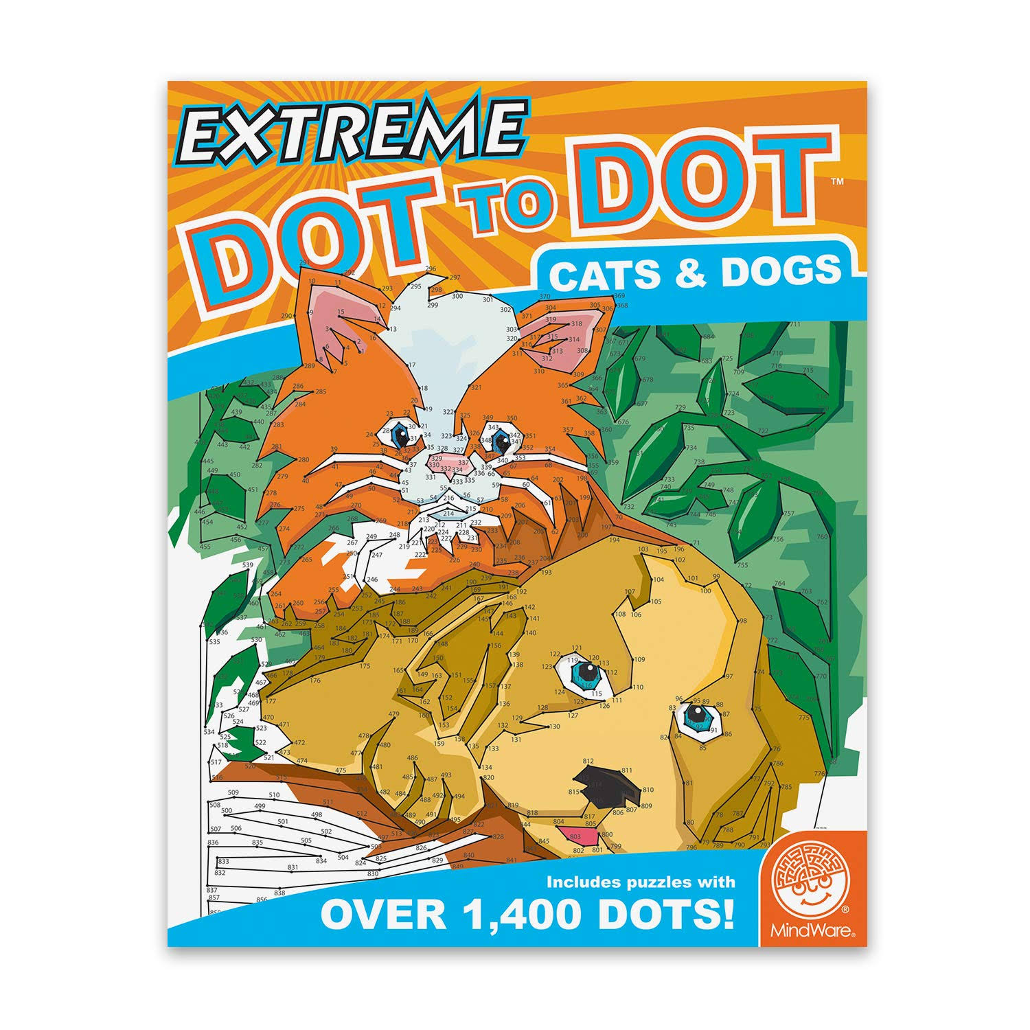 MindWare Extreme Dot to Dot (Cats and Dogs)
