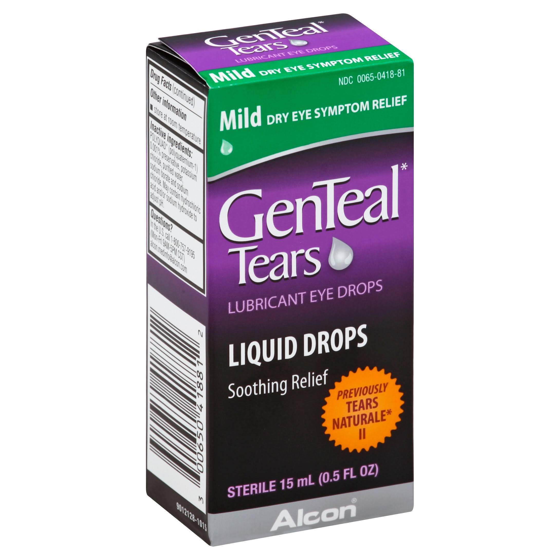 GenTeal Eye Drops - Mild, 0.5oz