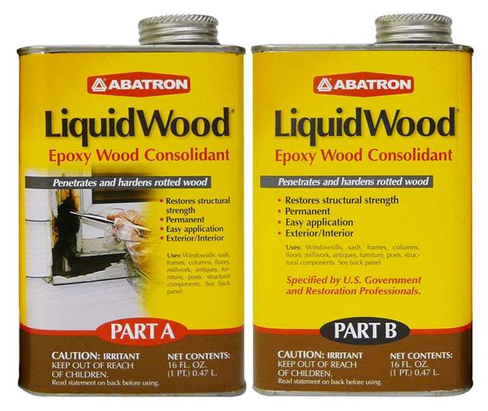 Abatron Lw2pkr 2 Pint LiquidWood Kit