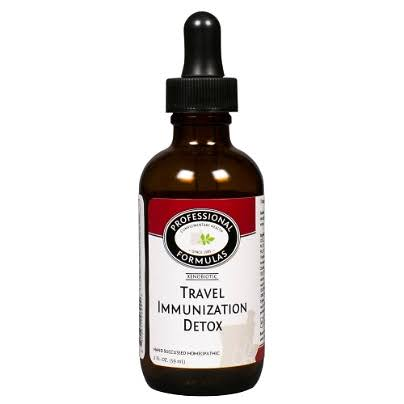 Professional Complementary Health Formulas Travel Immunization Detox 2oz