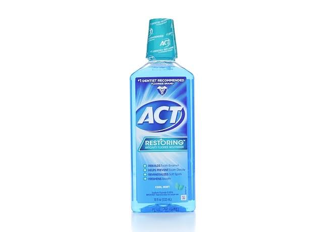 Act Restoring Anticavity Flouride Mouthwash - Cool Splash Mint, 18oz