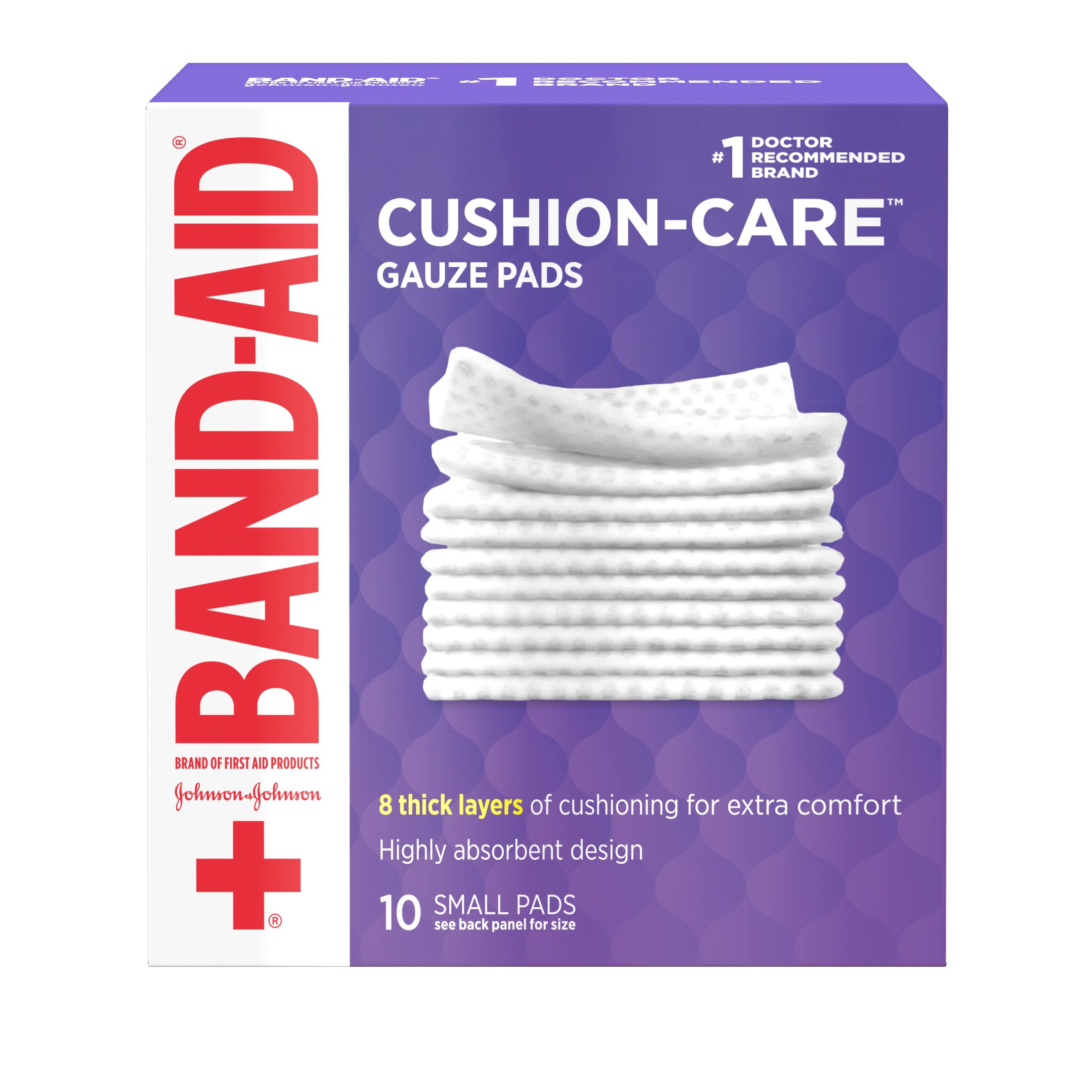 Band-Aid Gauze Pads - 25 Small Sterile Pads
