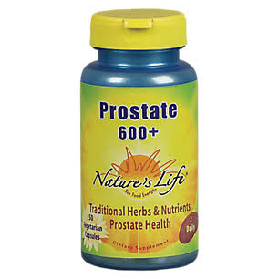 Nature's Life Prostate 600 Plus Dietary Supplement - 50ct