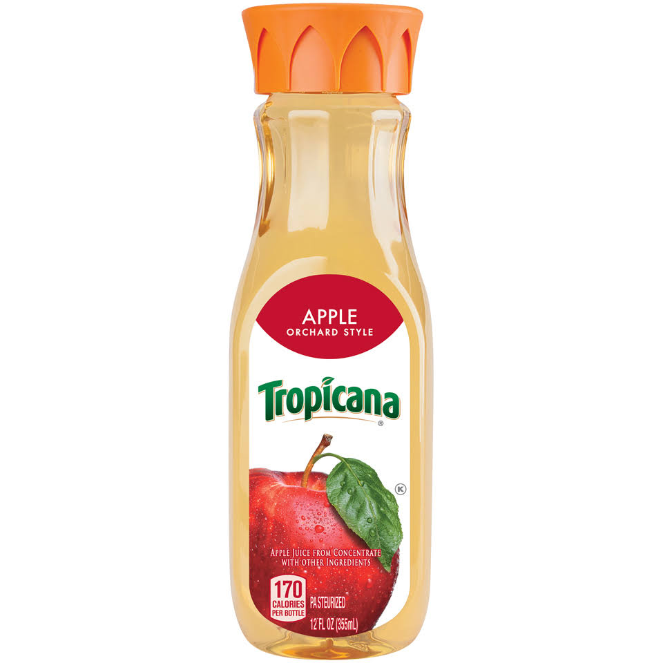 Tropicana Orchard Style Apple Juice - 12oz