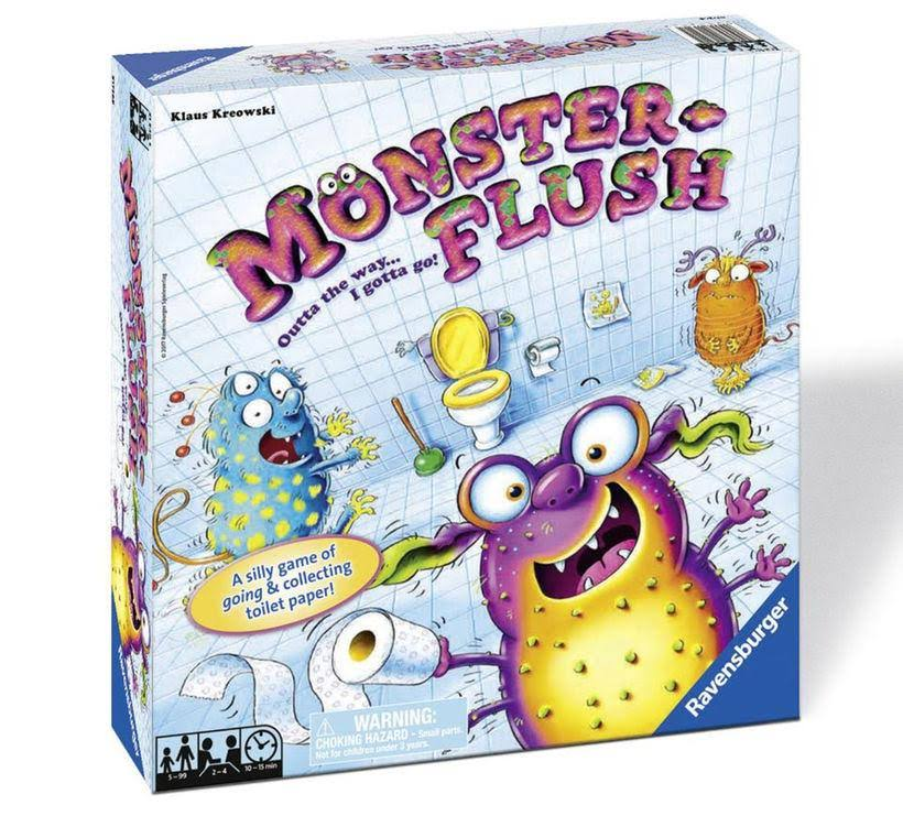 Ravensburger Monster Flush Game