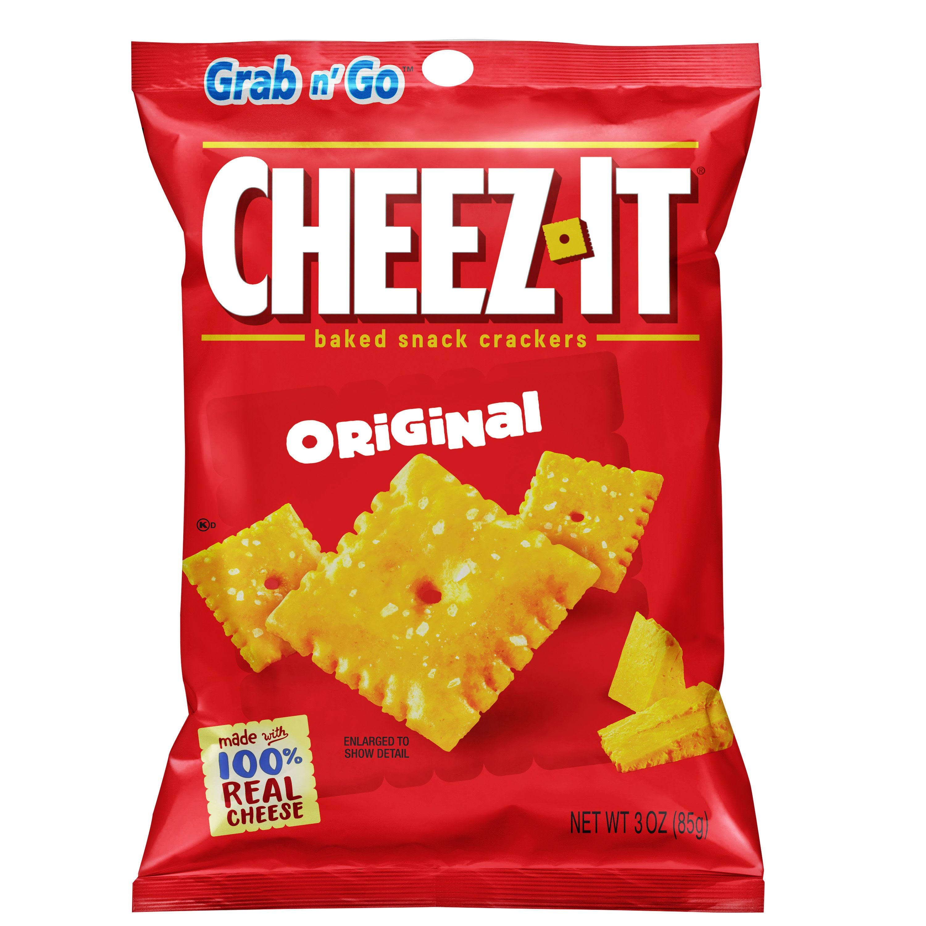 Sunshine Cheez-It Grab N' Go Baked Snack Crackers - Cheese, 3oz
