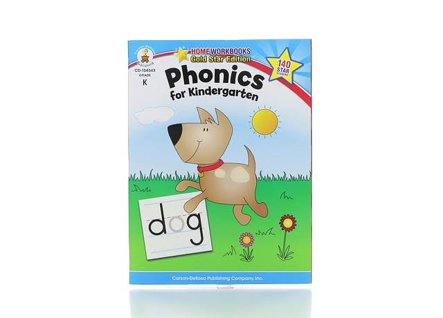 Phonics for Kindergarten: Grade K - Carson-Dellosa Publishing