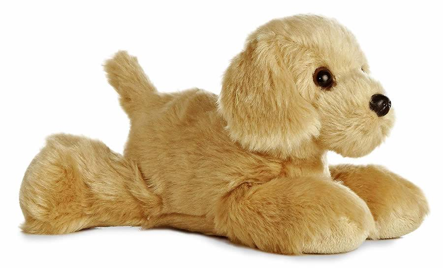 Aurora Mini Flopsie Golden Retriever - 8""