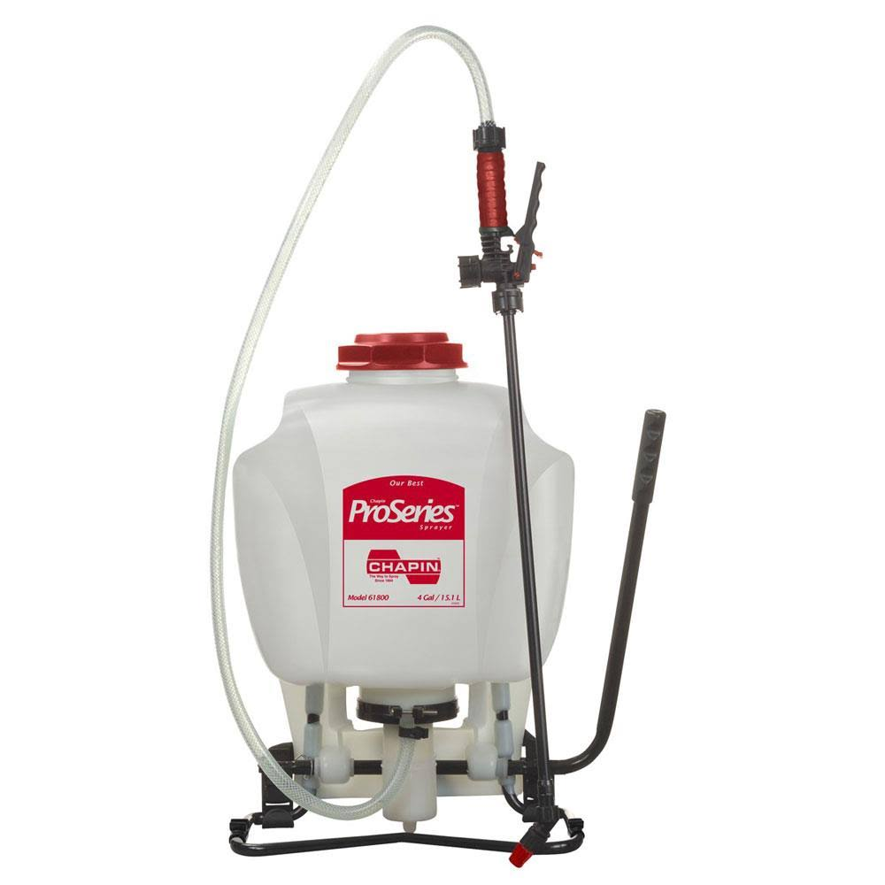 Re Chapin Mfg Works Pro Series Poly Backpack Sprayer - 4 Gallons
