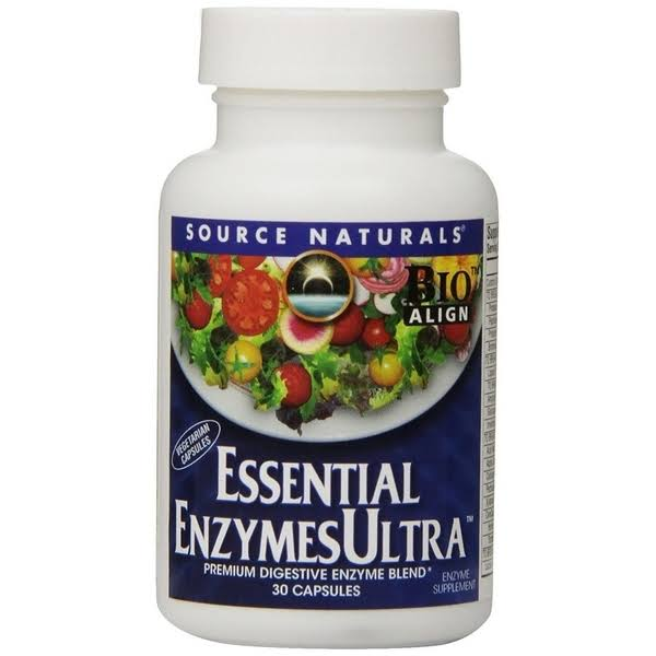 Source Naturals Essential Enzymes Ultra Supplement - 30ct