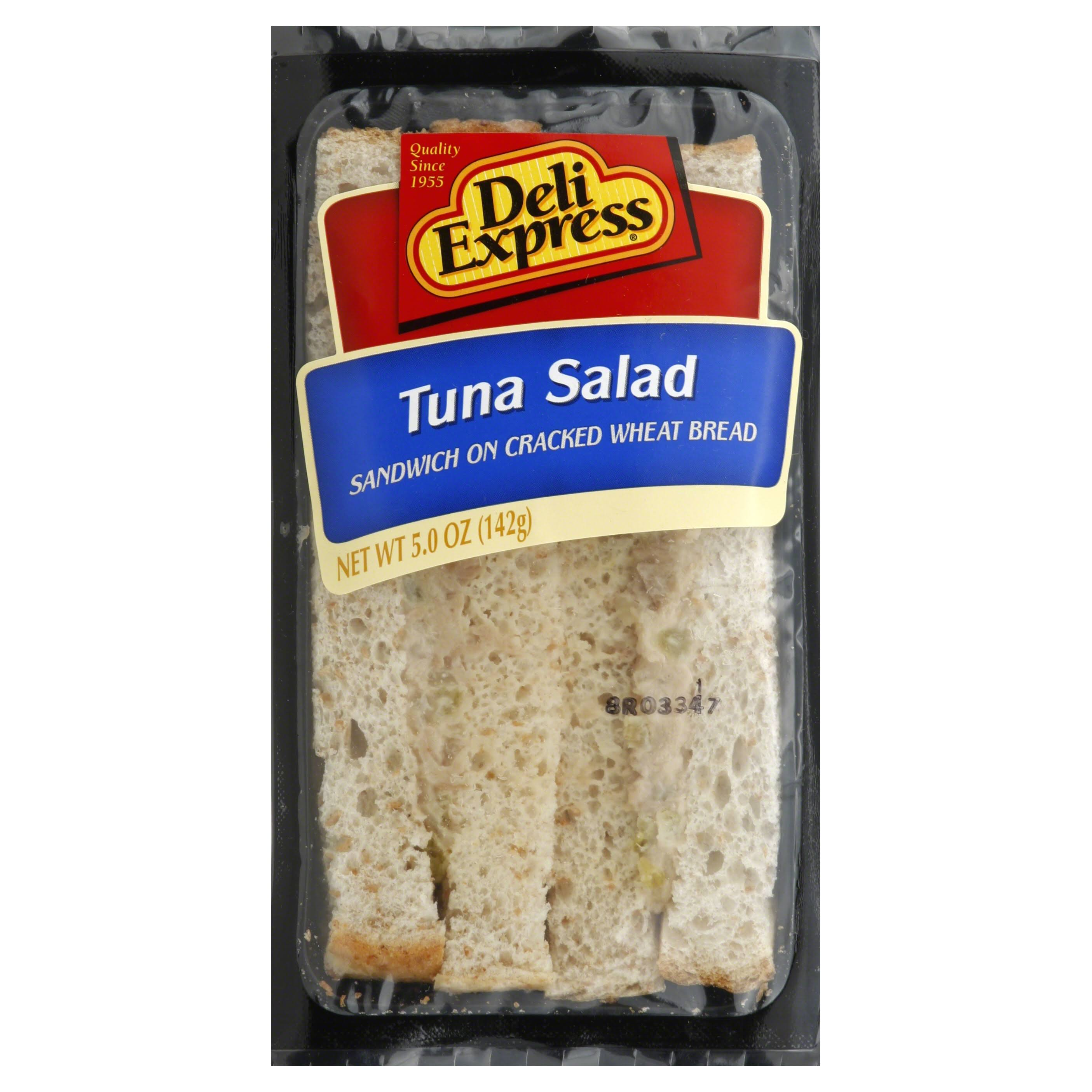 Deli Express Sandwich, Tuna Salad - 5.0 oz