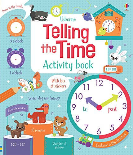 Telling the Time Activity Book [Book]