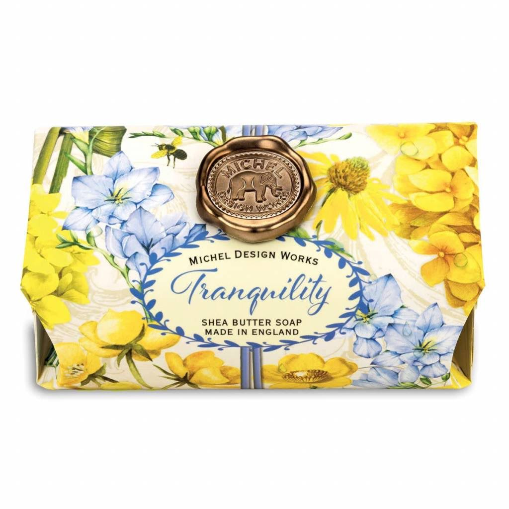 Michel Design Works - Tranquility - Large Bath Soap Bar