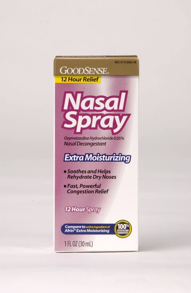 GoodSense Moisturizing Nasal Spray 12 Hour 1 oz (Pack of 72)