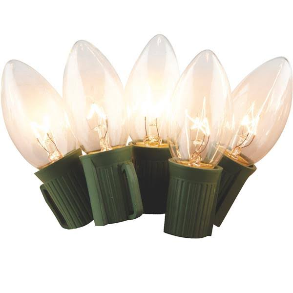J Hofert C9 Incandescent Light Set - 25 Pack