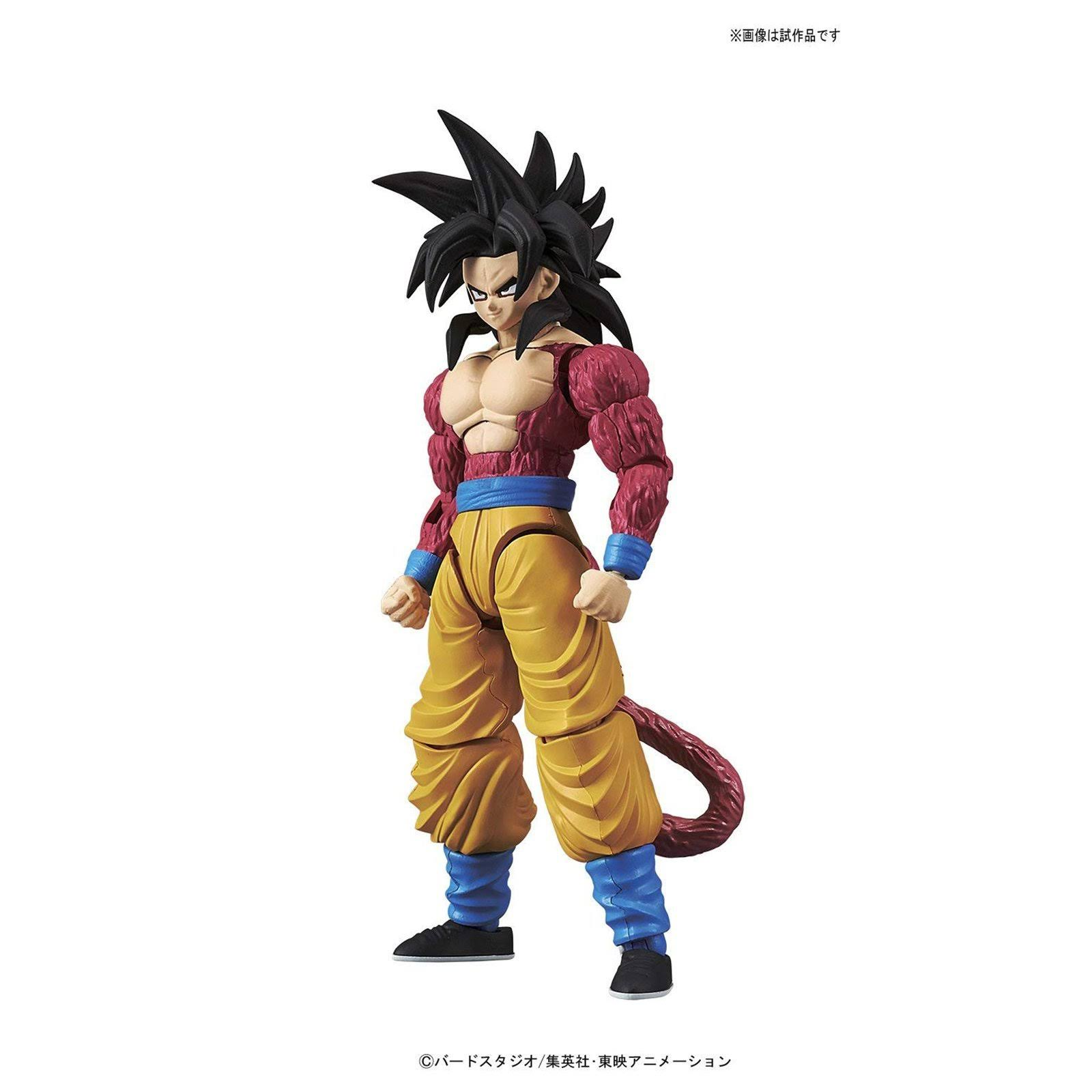 Bandai Dragon Ball Gt Standard Super Saiyan 4 Son Goku Fihure Rise Plastic Model Kit