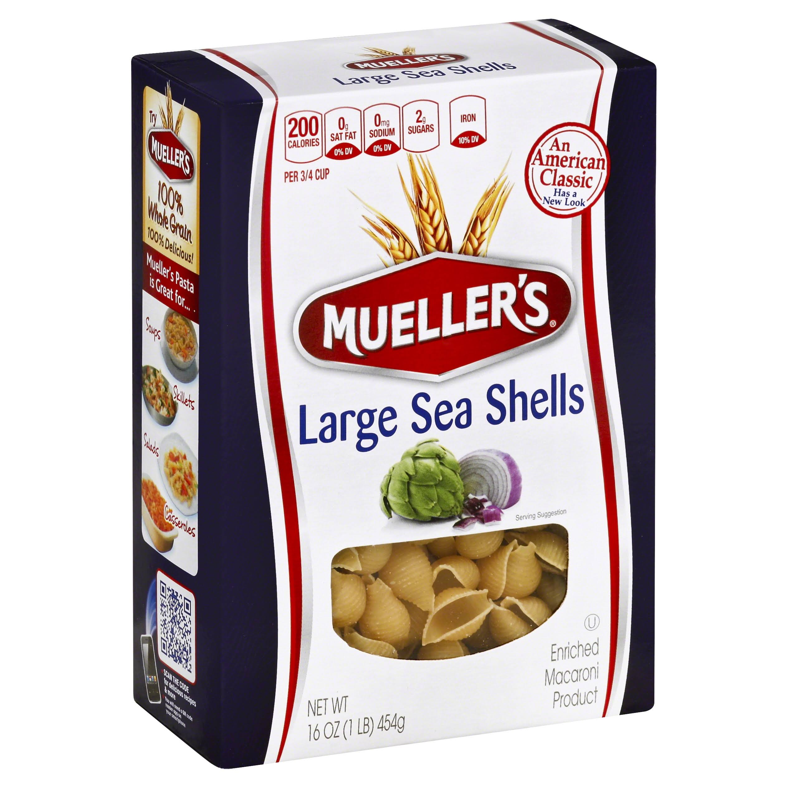 Mueller's Large Sea Shells Macaroni