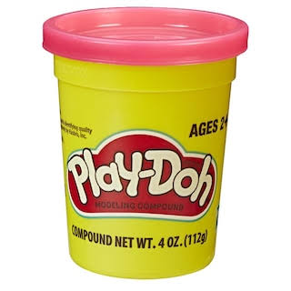 Play-Doh 4 Ounce Single Can - Rubine Red
