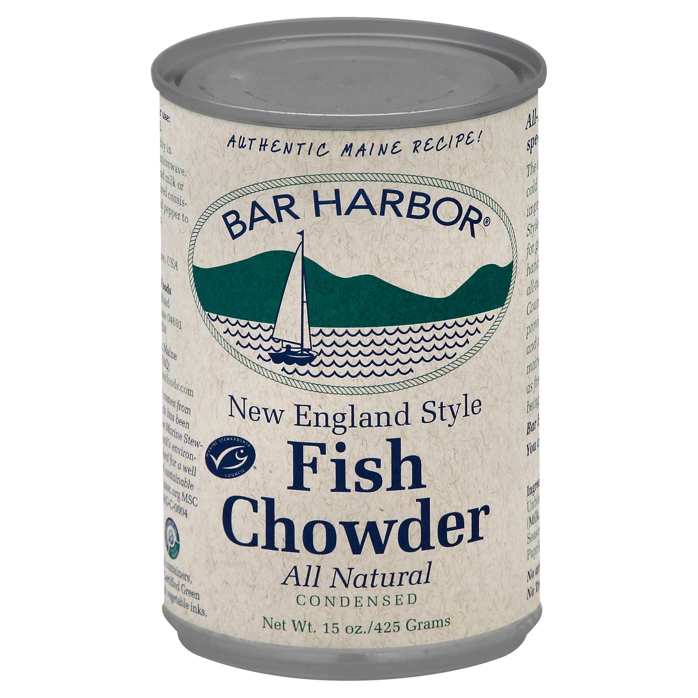 Bar Harbor Fish Chowder - 15oz