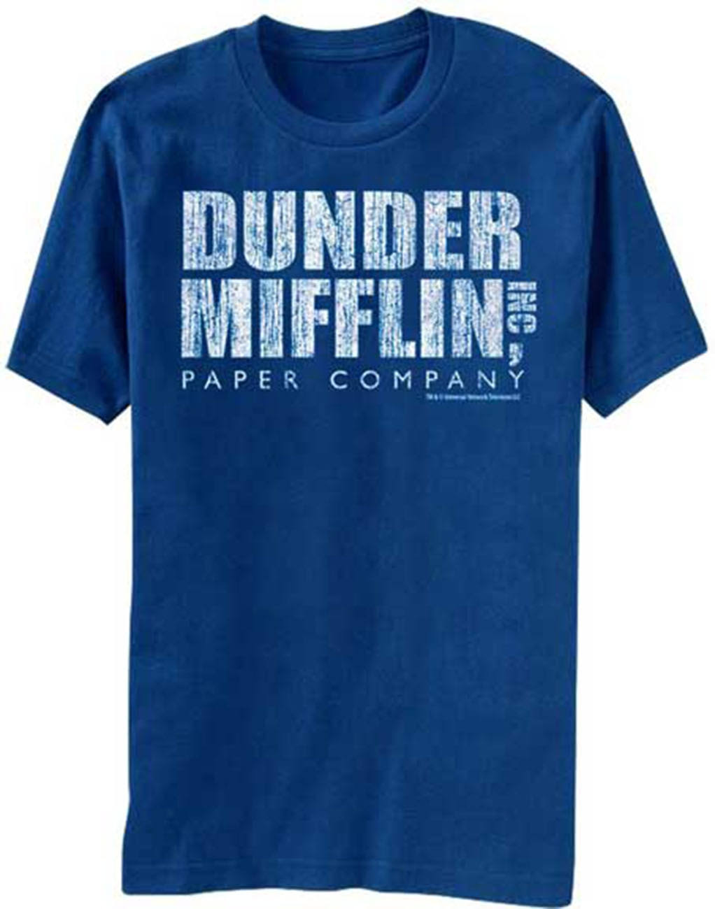 The Office Men's Dunder Mifflin Inc Distressed Logo T-Shirt