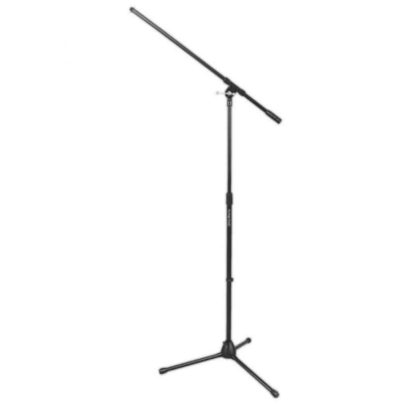 On Stage Tripod Boom Microphone Stand - Black