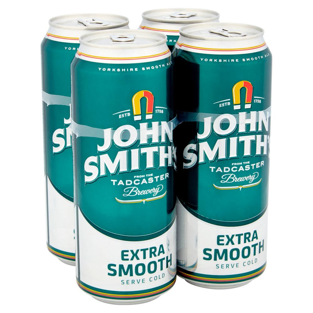 John Smith's Extra Smooth Ale - 4ct, 440ml